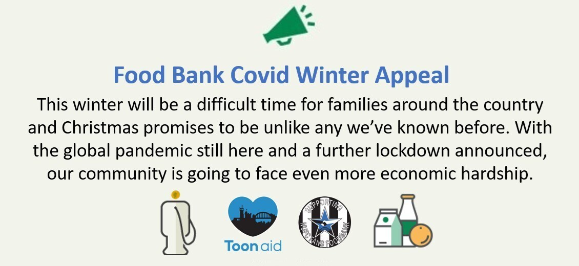 Food Bank Covid Winter Appeal